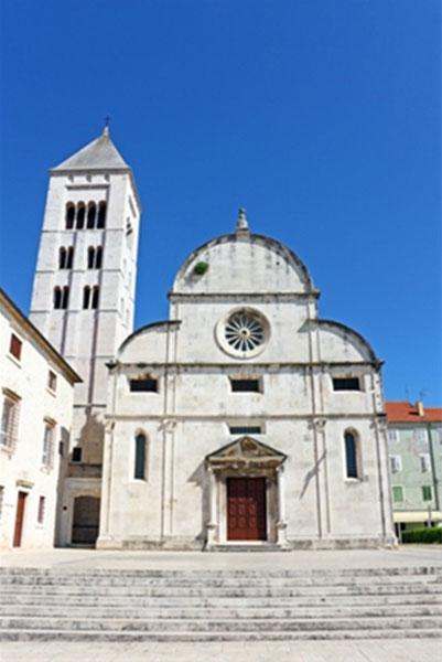 כנסיית סנט מארי בעיר העתיקה של זאדאר